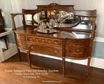 Marquetry Inlaid Sideboard Burchard Auction