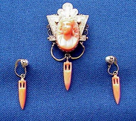 Black Angel Cabochon Silver//Bronze//Black//Gold Glass Chain Pendant Necklace #6766
