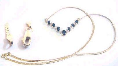 "10k yellow Gold 5mm blue evil eye protection Bracelet gift fine jewelry 7/"" 2.1g"