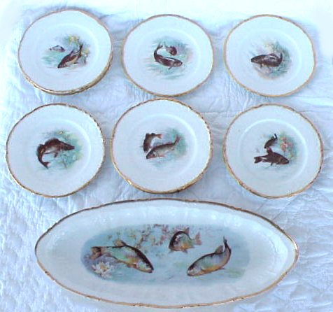 Price guide for VICTORIA CARLSBAD AUSTRIA PORCELAIN FISH