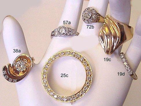 Diamoire Jewels Exemplary Decorated Ribbon Ring in 18Kt White Gold - UK U - US 10 1/4 - EU 62 3/4 ulK0u7