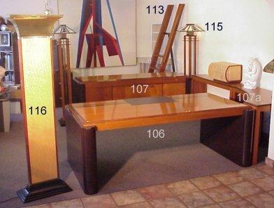 107 art deco style credenza matches the desk art deco office credenza