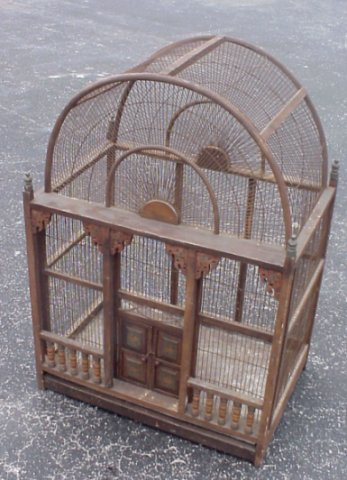 wooden bird cage designs 1