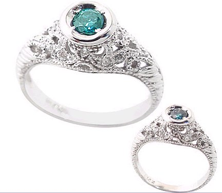Jewelry Adviser Rings 14Kw Freeform Knot Ring