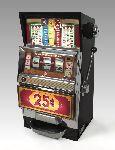 Slot Maschine steht Unternehmen