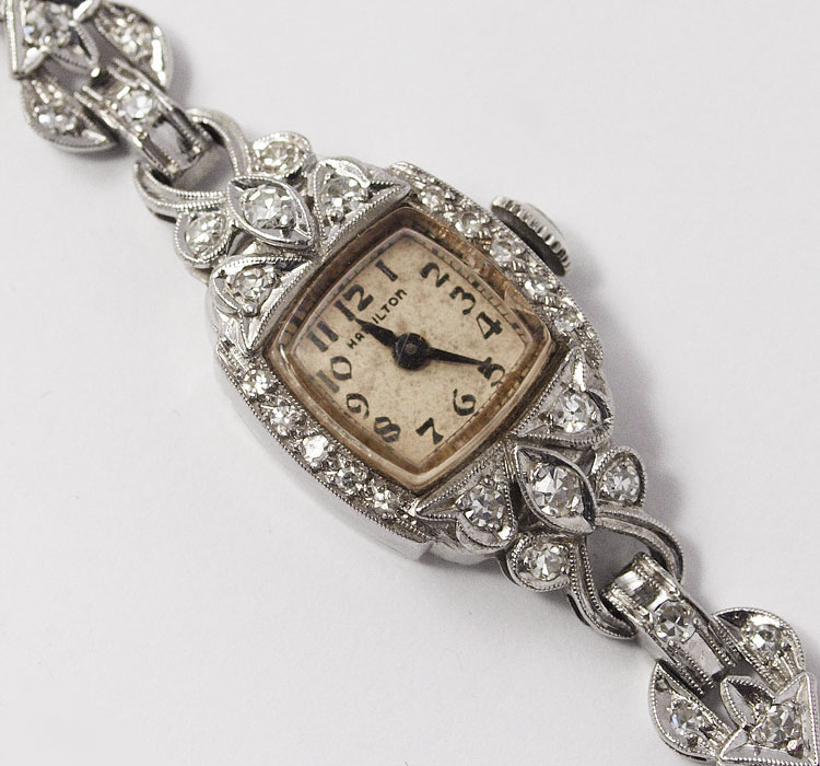 Hamilton Diamond Watch Vintage