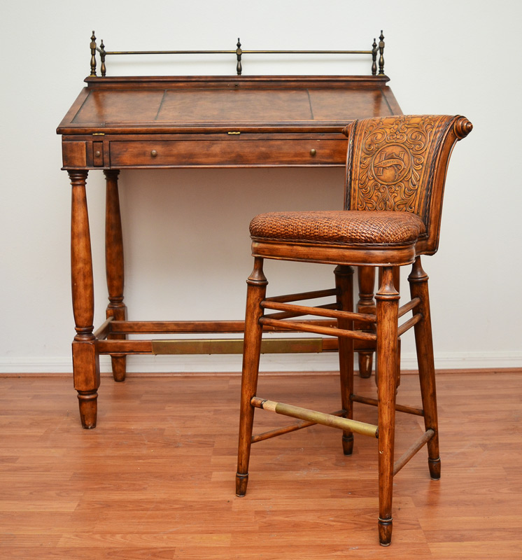 Lot 1206 Thomasville Hemingway Collection Desk