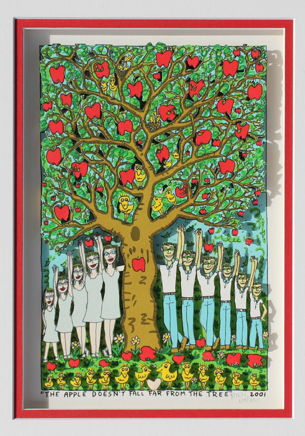 the apple falls far from the tree english literature essay ¡hola my spanish teacher was talking about this metaphor, the apple doesn't fall far from the tree  english translation is something like:.