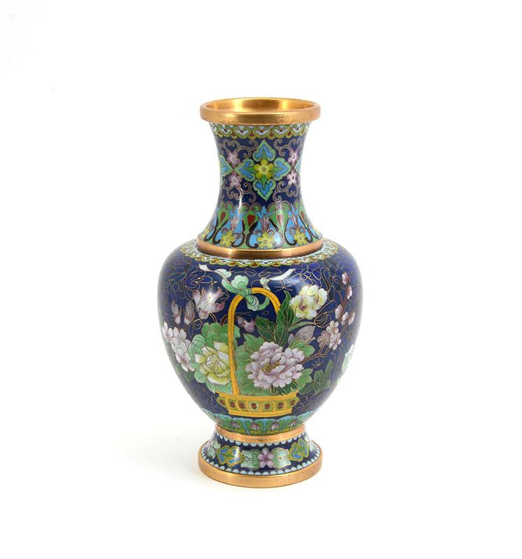 Dark blue vase burchard galleries sunday march 26 blue vase royalty free stock photo image